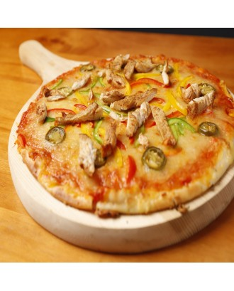 Grilled Chicken Pizza