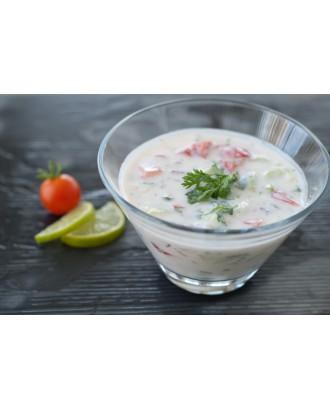Mix veg raitha