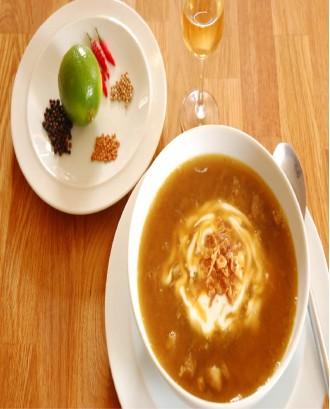 Mulligatawny Lamb Soup