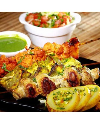 Vegetable Tandoori Platter