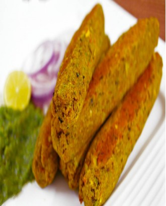 Vegetable Sheekh Kebab