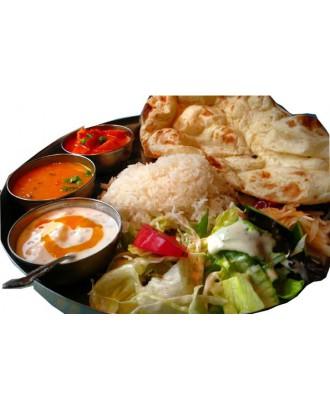 Vegetarian Naan Set